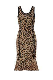 Leopard Knit Sheath Dress by Great Jones at Great Jones