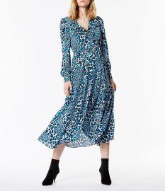 Leopard Midi Dress by Karen Millen at Karen Millen