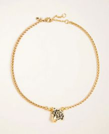 Leopard Necklace at Ann Taylor