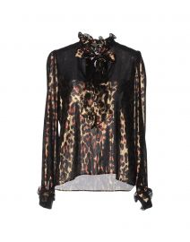 Leopard Print Blouse by Lanvin at YOOX