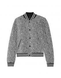 Leopard Print Jacket by R13 at Yoox