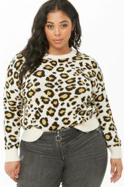 Leopard Print Sweater at Forever 21