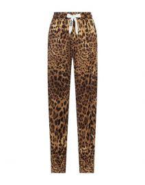 Leopard Print Sweatpants by Dolce & Gabbana at Farfetch
