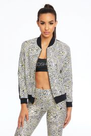 Leopard Spot Bomber Jacket by Gold Sheep Clothing at Gold Sheep