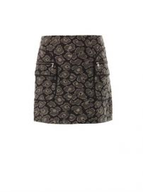 Leopard jacquard skirt by Marc by Marc Jacobs at Matches
