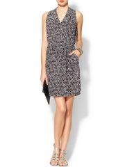 Leopard print dress by Rebecca Taylor at Piperlime