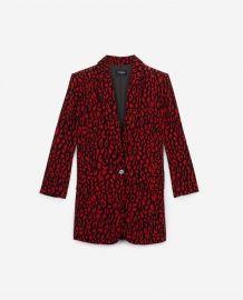 Leopard print floaty jacket at The Kooples