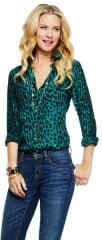 Leopard print shirt at C Wonder