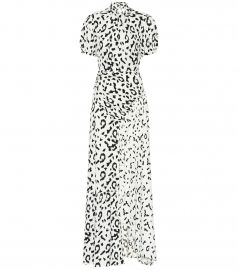 Leopard printed maxi dress at Mytheresa