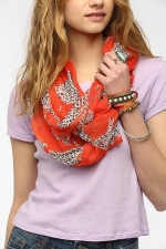 Leopard scarf at Urban Outfitters at Urban Outfitters