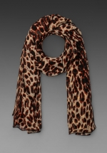 Leopard scarf by Anna Sui at Revolve