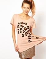Leopard spot tshirt by Wildfox at Asos