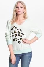 Leopard spots sweatshirt by Wildfox at Nordstrom