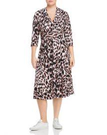 Leota Plus Mahlia Leopard Print Belted Dress Women -  Plus - Bloomingdale s at Bloomingdales