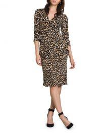 Leota Scarlett Leopard-Print Dress at Neiman Marcus