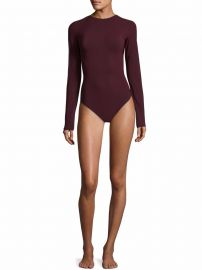 Leroy Microfiber Thong Bodysuit by Alix at Saks Fifth Avenue