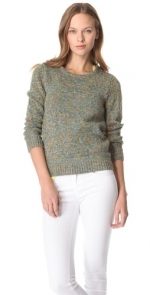 Leslie's green sweater at Shopbop