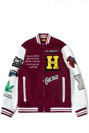 Letterman Jacket by The Hundreds x Lena Waithe at The Hundreds