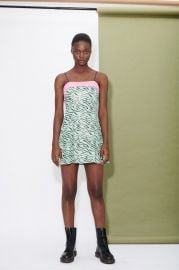 Lettie Zebra Dress at Olivia Rubin