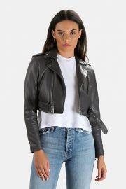Leufy Leather Jacket by Iro at Blue & Cream