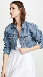 Levi  039 s Cropped Trucker Jacket at Shopbop