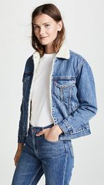 Levi  039 s Ex-Boyfriend Sherpa Trucker Jacket at Shopbop