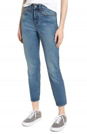 Levi  x27 s   Wedgie Icon Fit High Waist Ankle Jeans  These Dreams    Nordstrom at Nordstrom