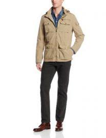 Leviand39s Menand39s 4 Pocket Cotton Field Jacket Khaki X-Large  Amazoncom at Amazon