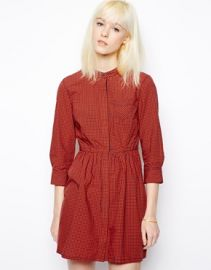 Levis  Levis Checked Dress at Asos