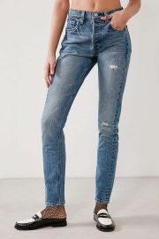 Levis 501 Altered Skinny Jean Moody Blues  at Urban Outfitters