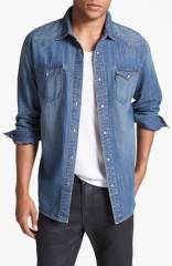 Levis Denim Western Shirt at Nordstrom