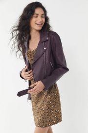 Levis Purple Moto Jacket at Urban Outfitters