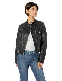 Levis faux leather jacket at Amazon