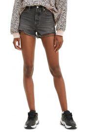 Levis original high waist cutoff shorts at Nordstrom