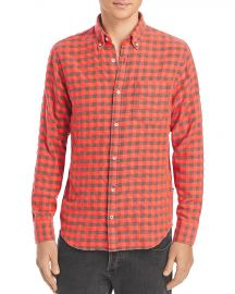 Levon Checked Flannel Button Down Shirt at Bloomingdales