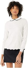 Lheo Mockable Jumper with Scallop Hem at Amazon