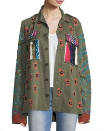 Libertine Love Embellished Army Jacket at Neiman Marcus