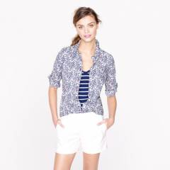 Liberty Perfect Shirt in Junes Meadow Floral at J. Crew