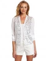 Light grey sequin cardigan at Amazon