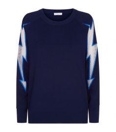 Lightning Bolt Sweater Sandro at Harrods