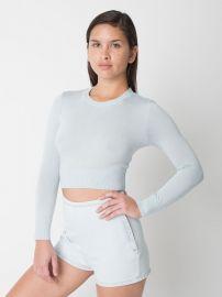 Lightweight Crop Sweater at American Apparel