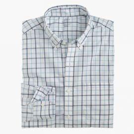 Lightweight Secret Wash shirt in tattersall at J. Crew
