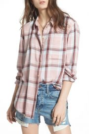 Lightweight boyfriend shirt at Nordstrom Rack