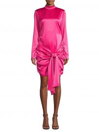 Likely - Khaleesi Long-Sleeve Tie-Front Dress at Saks Fifth Avenue