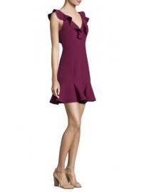 Likely - Harlow Ruffle Mini Dress at Saks Fifth Avenue