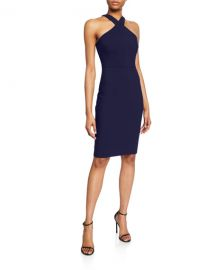 Likely Carolyn Halter-Neck Sheath Dress at Neiman Marcus