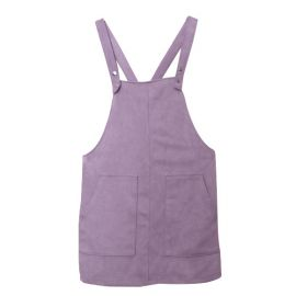 Lilac Pinafore dress at Forever 21