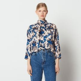 Liliane Silk Blouse by Sandro at Sandro