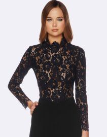 Lilliana Lace Top at The Iconic
