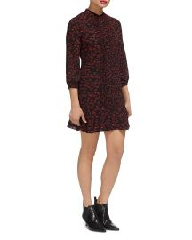 Lilly Lip-Print Dress by Whistles at Bloomingdales